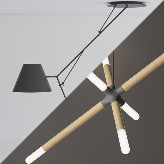 Skinny Lamp и Cross Lamp