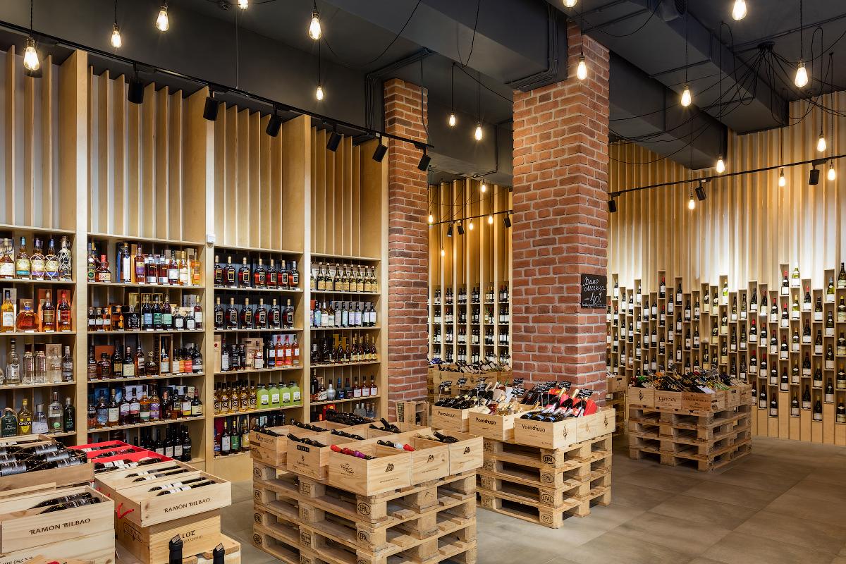 дизайн винного магазина фото пришел зданию мещанского