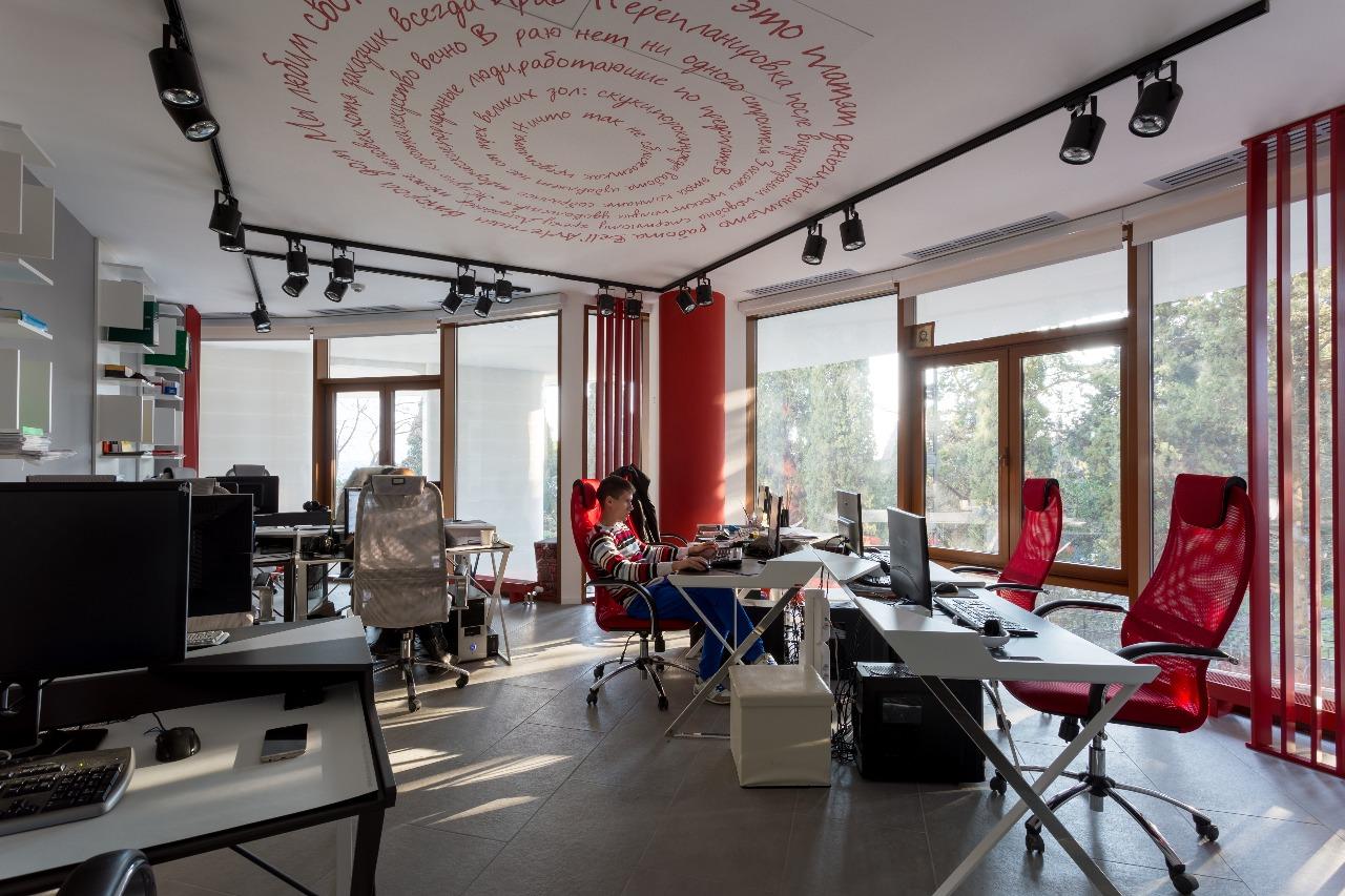 Дизайн офиса по европейски