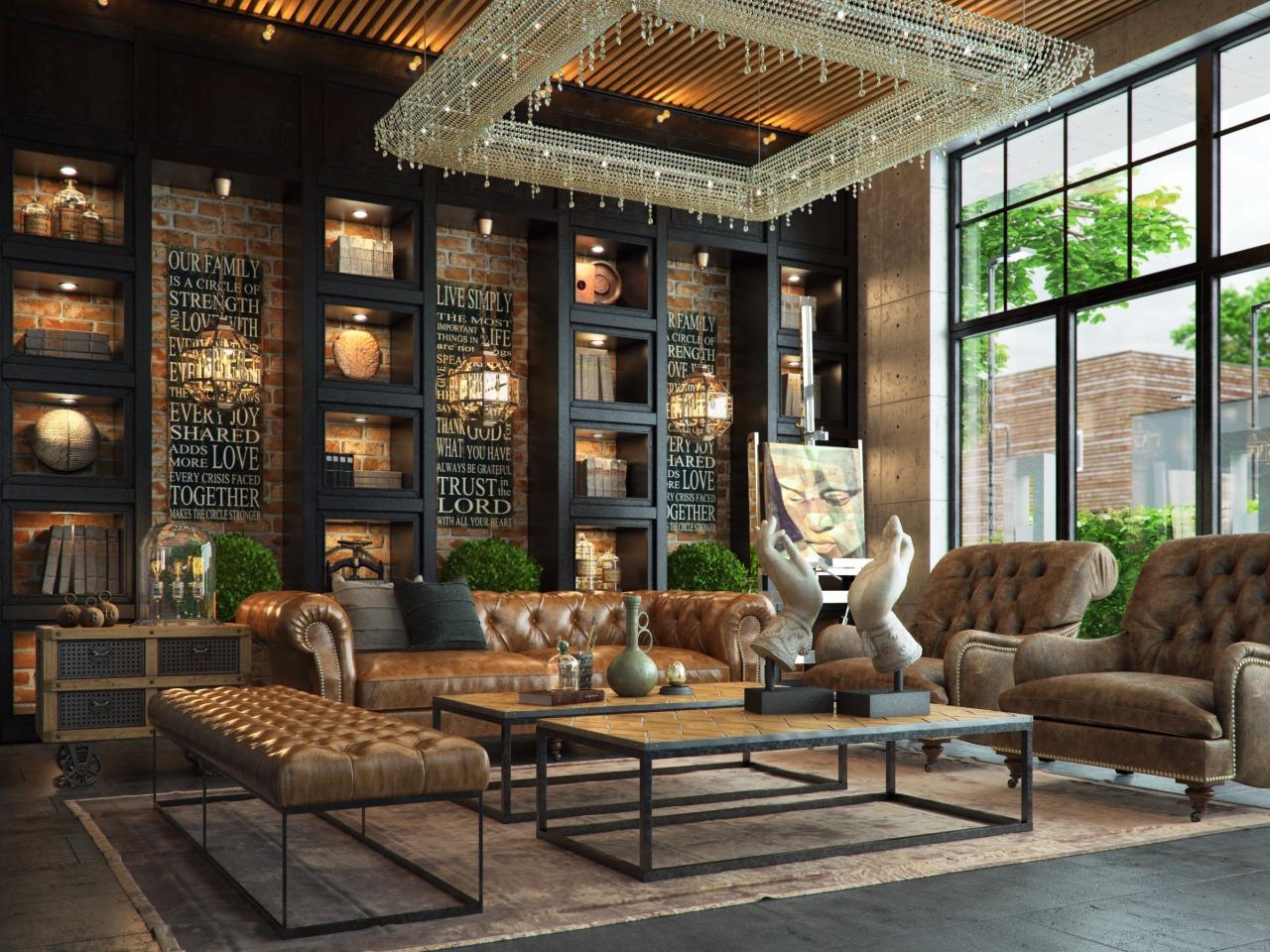 новые индустриальные стили мебели и их фото регион